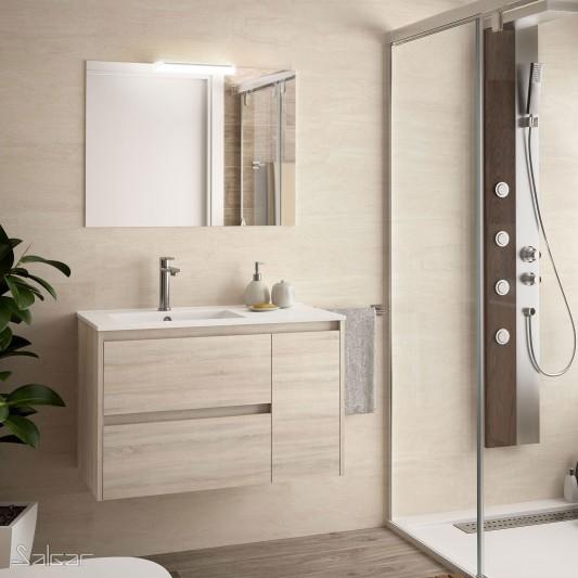 Mueble baño Noja de 85 Desplazado I y D