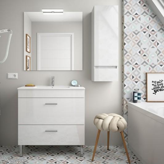 Mueble de baño ALMAGRO de 60, FONDO 35cm de Salgar