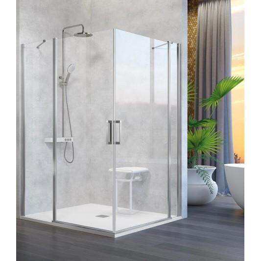 Mampara de ducha angular NARDI NA505 de Kassandra