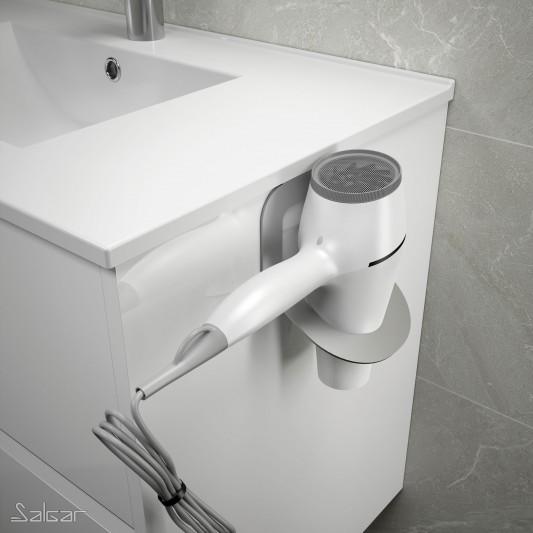 Soporte para secador negro Minimal de Salgar