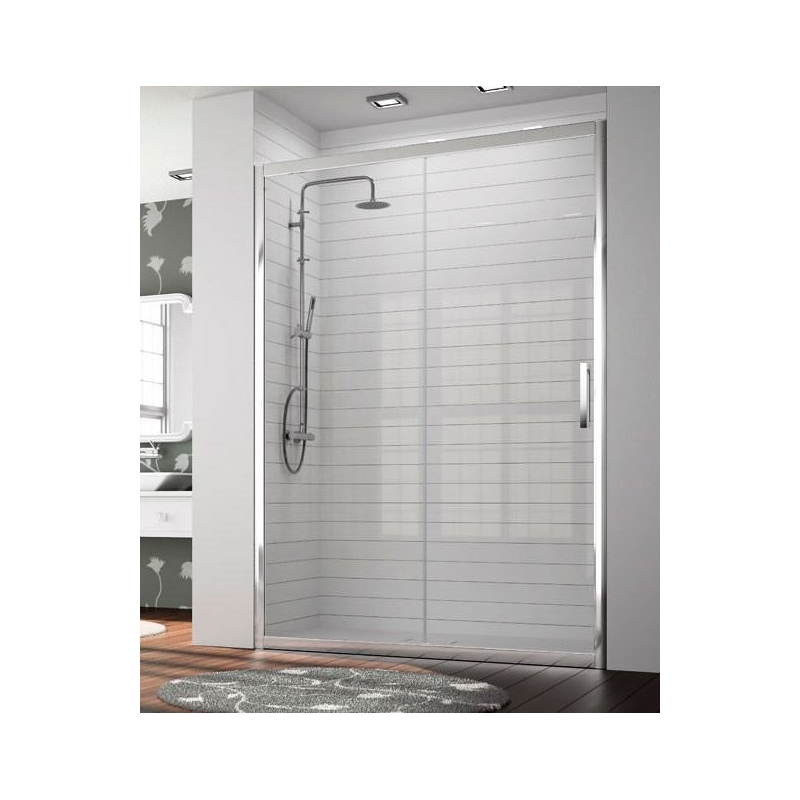 Mampara de ducha frontal 300 tr102 de kassandra frente - Puerta mampara ducha ...