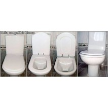 Tapa wc Delta de Porsan Compatible