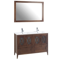 Avila 120 Mueble de baño pino