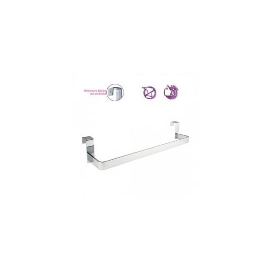 Toallero lateral 29 cm mueble de ba o fondo reducido for Accesorios bano sin taladro
