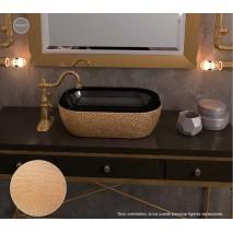 Lavabo Nalon bicolor Oro