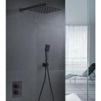 Sistema Termostato ducha empotrar Cies negro