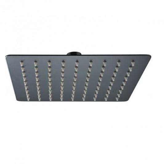 Rociador Acero 20x20 Negro