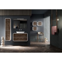 Mueble de baño Ovalo de 80