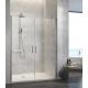 Mampara de ducha Nardi NA501 de Kassandra (2 puertas abatibles)