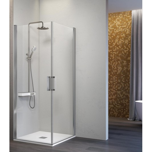 Mampara de ducha angular NARDI NA506 de Kassandra