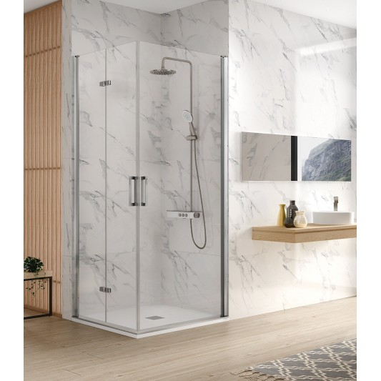 Mampara de ducha angular NARDI NA305 de Kassandra