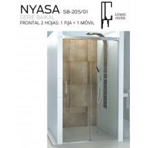 Mampara frontal 1f y 1c Nyasa de Debaño