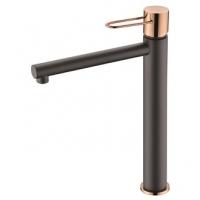 Grifo lavabo caño alto Milos BDY027-3NG