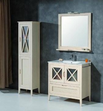 muebles de baño blancos