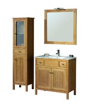 muebles de baño con patas madera