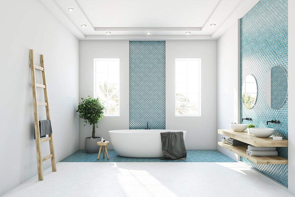Los baños modernos son la opción preferida en estos casos