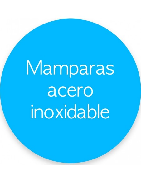 MAMPARAS ACERO INOXIDABLE